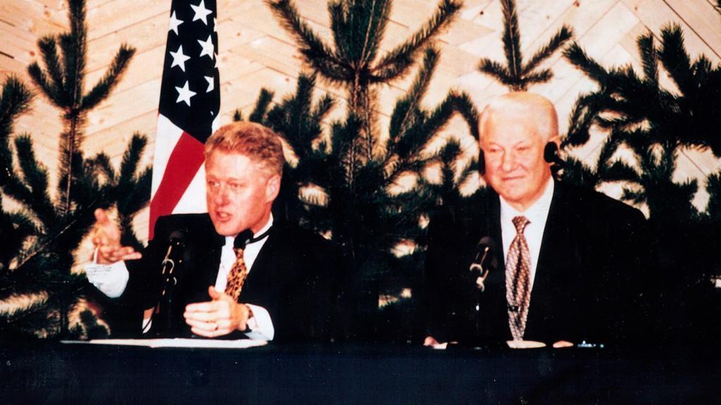 Hilton Kalastajatorppa - Clinton ja Jeltsin